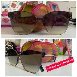 Óculos de sol CHILLIBEANS - SEMI NOVO