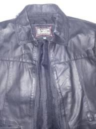 Vendo jaqueta de couro Carducci ( usada uma vez)