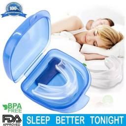 Aparelho dispositivo anti ronco e bruxismo ajuda e alivia melhorando o sono