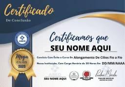 Alongamento De Cílios Premium