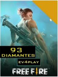 Recarga Free Fire 85 Diamantes + 10% Bonus