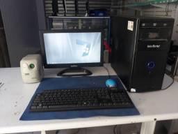 Computador Intelbras completo ( veja na descrição a configuração)