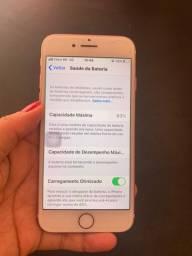 Vendo iPhone 7 32 G cor Rose