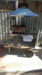 Vendo carrinho de churrasquinho de alumínio filé