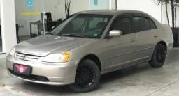 CIVIC 2002/2003 1.7 LX 16V GASOLINA 4P MANUAL