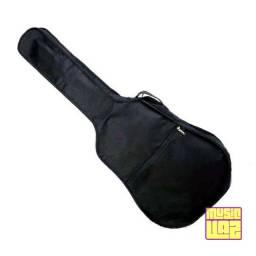 Capa Bag Violão Folk Standard Com Bolso Não Acolchoada