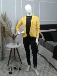 Blazer amarelo Nanine P