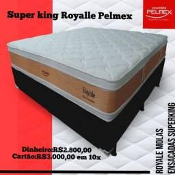 Mega Promoção de Conjunto Super King Pelmex Royale
