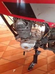 Vendo cg85 motorzão 245cc