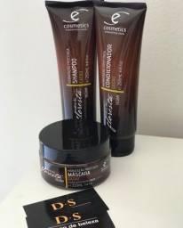 Kit Ecosmetics profissional, para cabelos secos e ressecados