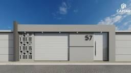 Título do anúncio: Casa à venda com 2 quartos, sendo 1 suíte, 1 vaga de garagem, murada, toda na laje, portõe