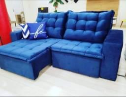 Sofás Pillow Retrátil e Reclinável (D33) - O Máximo do Conforto na sua Casa