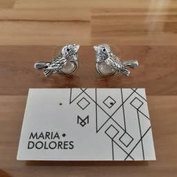 Brinco passarinhos marca Maria Dolores