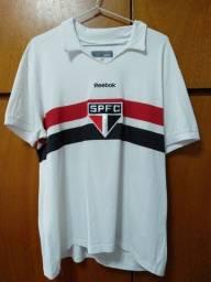Camisa Retrô São Paulo Futebol Clube Reebok
