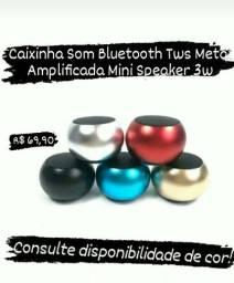 Mini caixa de som bluetooth Amplificada