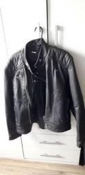 Jaqueta de Couro legítimo - Masculino