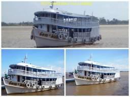 Barco: Vende-se - Turismo, Lazer, Transportes de Cargas Mistas (Cargas Secas, Geladas)