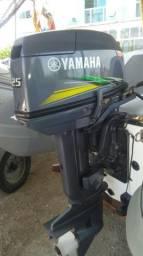 Yamaha 25hp com partida elétrica ano 2016 - 2016