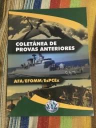 Coletânea de provas anteriores EsPCEx/AFA/EFOMM EsSA EEAR