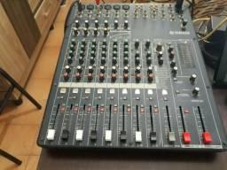 Mesa de som 12 canais