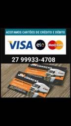 Mudanças Disk 99933-4708 Aceito cartão