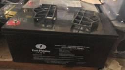Baterias de Gel 150ah Semi Nova Som Automotivo