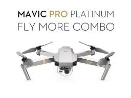 Drone Dji Mavic Pro Platinum Combo Fly More, Loja no Centro