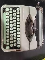 Máquina de escrever Datilografar Hermes Baby