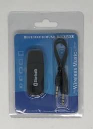 Adaptador de Bluetooth com Saída USB e Auxiliar DMZ Music Novo na Caixa Lacrada