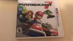 Jogo Mario Kart 7 pouco uso