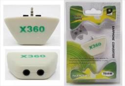Headset E Conversor De Fone E Microfone Para Xbox 360 earphone converter tyx-018B