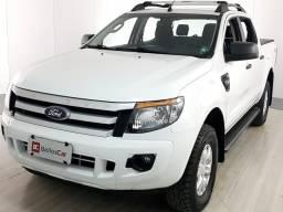 Ford Ranger XLS 3.2 20V 4x4 CD Diesel Mec. - Branco - 2015 - 2015