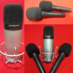 Microfones Originais com nota Fiscal