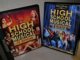 DVD coleção High School Musical (Remix & Show)