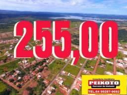 LOTEAMENTO EM CALDAS NOVAS 255 MENSAIS