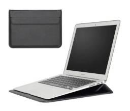 Bolsa Protetora de Couro para Macbook de até 13 Polegadas