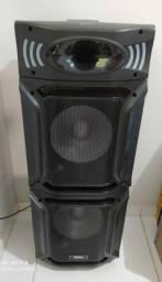 Caixa Acústica PCX15000 PR 1500W RMS Philco - Bivolt<br><br>