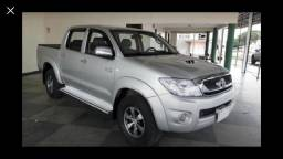 Hilux 3.0 srv automática 2010 diesel 4x4 manual chave reserva