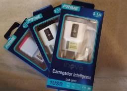Carregador para Celular (V8) Micro-USB com 1 entradas USB