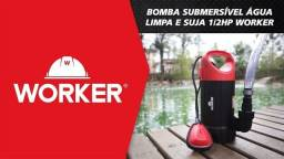 Bomba Submersível Sapo Água Limpa Ou Suja 110v   Worker