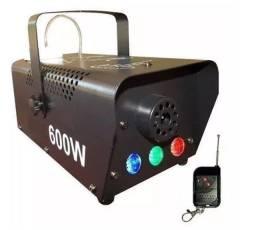 Máquina De Fumaça Led 600w Controle remoto