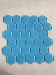 Pastilha de vidro 30x30 Celestial Blue B