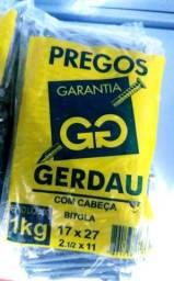 Prego 17x27 Gerdau Com Cabeça -