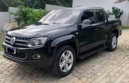 Volkswagen Amarok - Blindada, 2.0 Highline 4x4 CD 16v Turbo Intercooler Diesel- Automático
