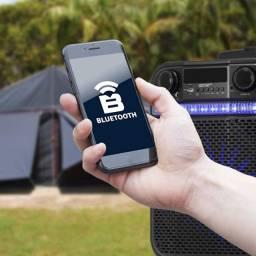 Caixa Amplificada Hayonik Go Power 200 Bateria Bluetooth