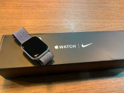Apple watch serie 5 44 mm nike zero sem uso