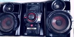 Mini system lg 120 w rms