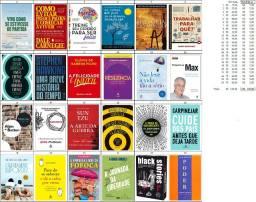 24 livros em excelente estado de uso
