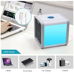 Mini Climatizador Ar Condicionado Usb Portátil Uso Pessoal + Frete Grátis!