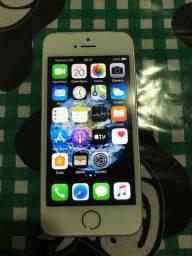 Vendo iPhone SE 64GB ouro rose